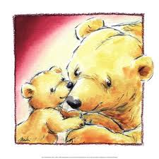 Framed Mother Bear39s Love III Print