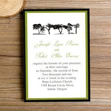 Inspirational Cheap Country Wedding Invitations For Green Trees Rustic 51