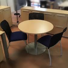 table ronde bureau table ronde de bureau occasion diam 90 cm equip proequip pro