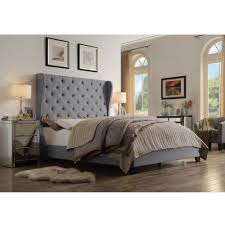 Wayfair Skyline Tufted Headboard by Ophelia Queen Upholstered Platform Bed Products Pinterest