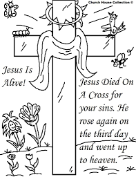 Preschool Easter Coloring Pages Printable Religious