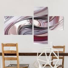 glasbild mehrteilig illusionary 3 teilig glasbilder