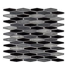 Jeffrey Court Mosaic Tile by Jeffrey Court Jasper 11 5 8 In X 11 5 8 In X 6 Mm Stone Glass