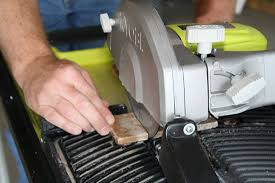 ryobi 7 in portable tile saw with laser ws750l review