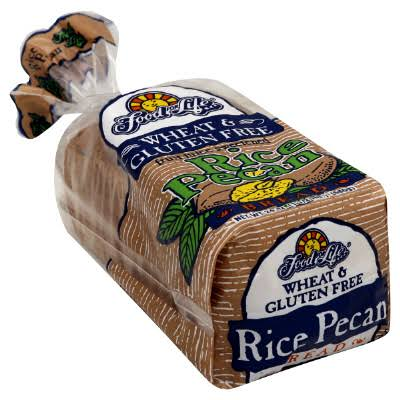 Food For Life Bread, Gluten Free, Rice Pecan - 24 oz