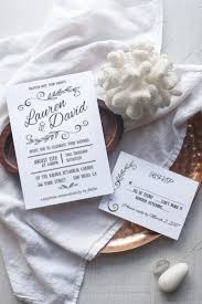 DIY Rustic Wedding Invitation Template