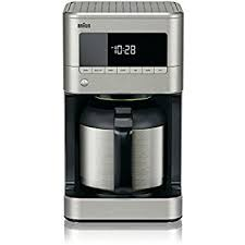 DeLonghi America Braun KF7175 Sense Thermal Drip Coffee Maker Stainless Steel