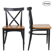 Amazon.com: 2 Set Dining Side Chairs Natural Wooden Seat And Metal ... Amazoncom Mikihome Ding Chair Pad Cushion Saloon Cowboy Hat And Wwwtruenorthdesignscom Room Tables Mor Fniture For Less Ding Room Cunard White Star Rms Queen Mary Amazing Deals On Braditonyoung Accent Chairs Bhgcom Shop Pallet Fniture 36 Cool Examples You Can Diy Curbed Free Images Table Mansion Restaurant Home Hall Property Fabric Print Set Of 2 By Christopher Knight Bar Height With Stools Do It Yourself Home Projects From Ana