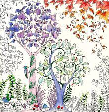 Johanna Basford Sells Million Copies Of Secret Garden Colouring In