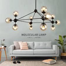 großhandel post modern led kronleuchter metall glas moderne bar café europa wohnzimmer innen le decke decoretion leuchte afantil 72 auf