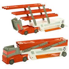 100 Toy Big Trucks Cool Hot Wheels Mega Hauler 6 Layer Container Vehicles