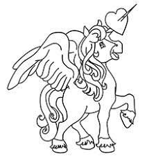 Pegasus Coloring Sheets Unicorn