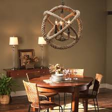 american country style rope lighting fixtures personalized retro
