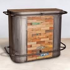bureau bois recyclé inspiring meuble bar original id es de design bureau domicile bois
