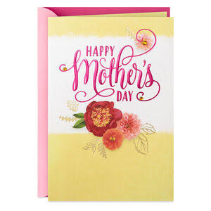 You're A Blessing Floral Mother's Day Card
