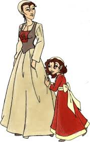 The Scarlet letter is about a lady Hester who had a baby