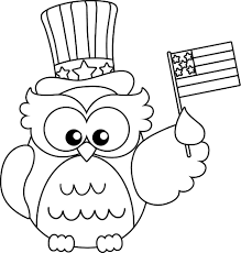 Owl Coloring Pages Toddlers