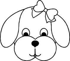 Eat Dog Bone Coloring Page