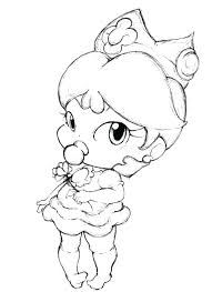 Baby Disney Princess Coloring Pages 4 C Sheets Rapunzel