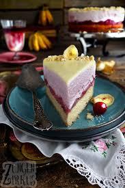 kiba torte mit kiba mousse und weißer schokolade zungenzirkus