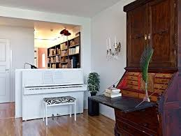 Upright Piano And Room Divider