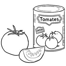 Livre De Coloriage Tomatescerises Illustration De Vecteur