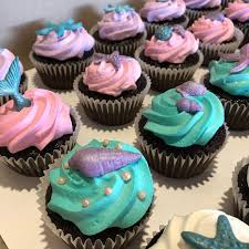 50 Edible Sugar Cake Decorations Shells Sea Stars Cupcake