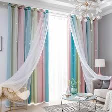 Vorhã Nge Wohnzimmer Tipps Tiyana Lila Gradienten Blackout Vorhänge Für Wohnzimmer Moderne Solide Rosa Fenster Vorhang Vorhänge Schlafzimmer Blau Tüll M080d