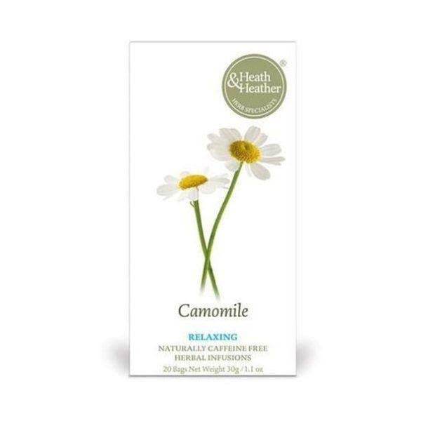 Heath & Heather Camomile 50 Tea Bags