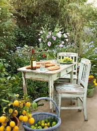Amazing of Shabby Chic Patio Ideas Lifeinstyle Greenwithenvy I