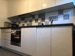 nolte küche weiß hochglanz grifflos bosch aeg küchenzeile
