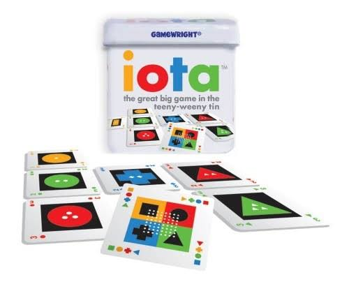 Gamewright Iota Logic Card Game