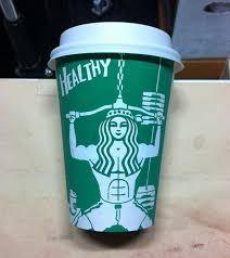 605x677 Illustrator Doodles On Starbucks Cups To Turn Mermaid Into Various