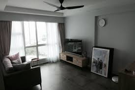 Haiku Ceiling Fans Singapore by Grey Blush Living Room Cement Tiles Minimalist Modern Scandi Clean