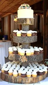 Vintage Barn Wedding Cake Stand Made By The Bride And Groom