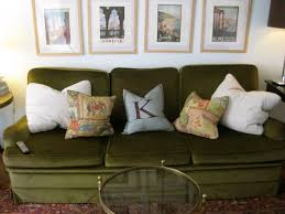 Brown Leather Couch Decor by Dark Green Couch Decorating Ideas Decorate Ideas Fantastical With