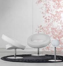 modernes design in weiß teppich wohnzimmer sessel