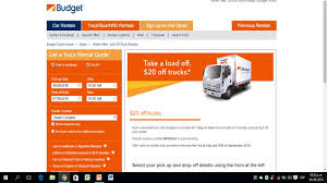 Coupons For Budget Truck Rental - How Do I Redeem My 1800flowerscom ...