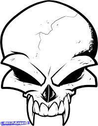 Cool Tattoo Designs Simple Skull