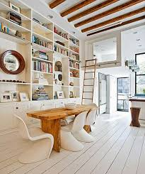 I Know That If Could Build My Dream Home Dining Room Would Double As A Library Love The Layered Look And There Is Such Comfort In Being Surrounded