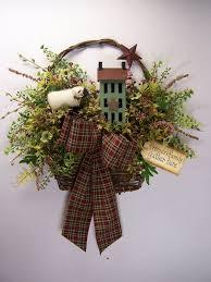 Primitive Decorating Ideas For Christmas by 25 Unique Primitive Wreath Ideas On Pinterest Christmas Wreaths