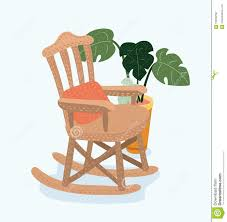 Rocking Chair. Flat Style Vector Illustration. Stock Vector ... Illustration Featuring An Elderly Woman Sitting On A Rocking Vector Of Relaxed Cartoon Couple In Chairs Lady Sitting Rocking Chair Storyweaver Grandfather In Chair Best Grandpa Old Man And Drking Tea Santa With Candy Toy Above Cartoon Table Flat Girl At With Infant Baby Stock Fat Dove Funny Character Hand Drawn Curled Up Blue Dress Beauty Image Result For Old Man 2019 On Royalty Funny Bear Vector Illustration