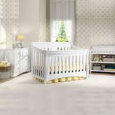 6 Drawer Dresser White by Delta Bentley 3 Piece Nursery Set Convertible Crib Changing