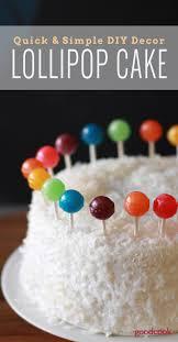 Rainbow Lollipop Cake Good Cook Good Cook