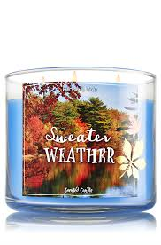 Bath And Body Works Pumpkin Apple Candle by Sweater Weather 3 Wick Candle Home Fragrance 1037181 Bath