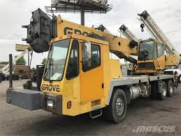 100 Service Truck With Crane For Sale Grove TMS500 For Sale Bridgeview Illinois Year 2005 Used Grove