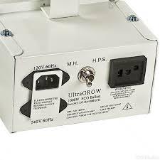 1000 Watt Hps Bulb And Ballast by Ultragrow 1000w Metal Halide Hps Grow Light Ballast