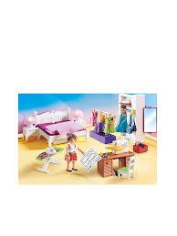 dollhouse schlafzimmer mit nähecke 70208