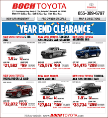 Boch Toyota Truck Specials | Boch Toyota In Norwood, MA 2015 Toyota Tacoma Prerunner In Flagstaff Az Pheonix Truck Month Jim Gusweiler Auto Group Washington Court House Oh 1995 Pickup Overview Cargurus 2012 Tundra 2017 Reviews And Rating Motor Trend The Freshed 2014 Arrives Dealerships At The End New Cars And Trucks That Will Return Highest Resale Values Used Hi Lux Invincible Chelmsford Essex From 37965month Us Light Vehicle Sales Increase January Rubber Plastics Lease Specials Serving Concord Grappone Heavyduty