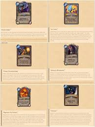 Warlock Deck Hearthstone Wild by Which Will You Miss The Most Hearthstone Amino